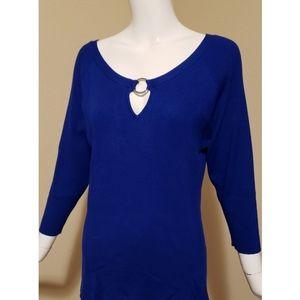 NWOT Calvin Klein Scoop-neck Sweater